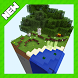 Sky forest islands Chunk map for Minecraft by krasnovkaom