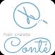 hair create Conté by Nasca Co.,Ltd.