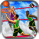 Flying Basketball Slam Dunks by Bulky Sports