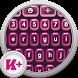 Keyboard Plus Neon Pink by Free Keyboard Themes HD
