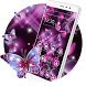 Sparkle Butterfly Theme by Hot Launcher