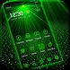 Laser light green tech Theme by Beauty Themes Plus