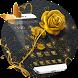 Golden Rose Theme Golden Wallpaper by Beauty theme