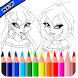 Coloring Book for Winx HD by Gaming pro