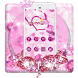 Shiny Twinkle Pink Glitter Theme by Mobile themes by Pixi