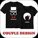 Couple Shirt Design by Riri Developer