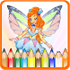 How To Color Winx Club - Winx Club Games by MoBroApps