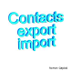 Import Contacts Export Contact by Roman Gajdos