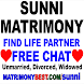 Free Sunni Matrimony. Free Chat Find Life Partner by Kareti