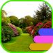 Garden Theme and Launcher by Theme land
