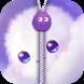 Fluffy Zipper Screen Lock by Winter Zone
