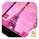2016 Pink Paris Keyboard Theme by Eva Awesome Theme