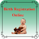 Birth registration online by Mobile apps tech