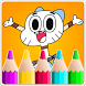 Coloring Book Game For gumball by Coloring Book Super Games