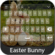 Easter Bunny Keyboard Theme by Styles Keyboard Forever