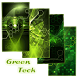 Green Tech Live Background by Keyboard and HD Live Wallpapers