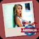 Australian Flag Photo Frames by Pixel Frames