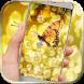 Butterfly gold golden by BeautifyStudio