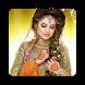 Indian Bride Dress & Makeup 2018 by app28