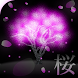 Neon Cherry Blossoms LiveWall by K-M-T-B.Lab