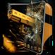 Gold Revolver Gun AK47 SMG Theme by Mobile themes by Pixi