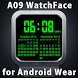 A09 WatchFace for Android Wear by Smartwatch Bureaux