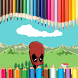 Coloring DeadpooL by neomas10