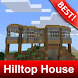 House on Hilltop for Minecraft MCPE by BestMapsAddons
