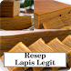 Resep Lapis Legit Unak by khaina