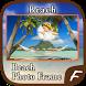 Beach Photo Frames by Amazing Night Riders