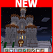 Castle in the desert MCPE map by Professional MCPE maps