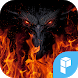 Fire Wolf launcher theme by SK techx for themes