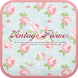 Vintage flower go launcher by IThemeShop