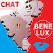 Benelux Chat europa by woorld live