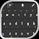 Black Keyboard Theme by Keyboard Skins