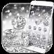Silver Diamond glitter Theme Wallpaper by LXFighter-Studio