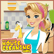 School Girls Cleaning House : High School Game by Miniflip Game Studios