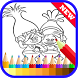 Coloring Book for Trolls Fans by Coloring Book Anime Studio