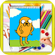 How to Draw Adventure Time Characters by kids color
