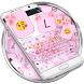 Love Cherry Valentine Emoji Keyboard Theme by Themes Dialer and Keyboard