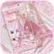 Theme Pink Paris Eiffel Tower by fancy themes