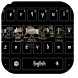 Skull Black Hell Keyboard by Keyboard Theme Factory