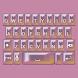Beautiful Pearl Keyboard Skin by Stealthychief Keyboard Themes