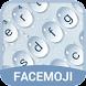 Water Drop Emoji Keyboard Theme for Facebook by Free Funny Keyboard Theme