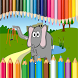 Coloring Dumbo