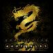 Golden Dragon Keyboard by Cool Keyboard Theme Studio