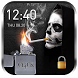 2018 Skull Lighter Lock Screen - Click to Unlock by Weather Widget Theme Dev Team