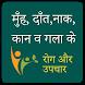 Ear Nose Throat Remedy Hindi, नाक, कान, गले के रोग by Latest Study