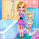 Twin Girls Room Cleaning by winkypinky