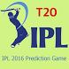 T20 IPL 2016 Prediction Game by Webappniche
